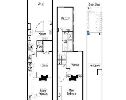48 Moubray Street Albert Park - Floorplan
