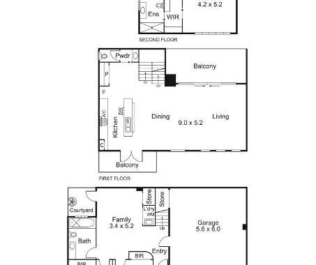 1-4-6 Glass Street Richmond - Floorplan