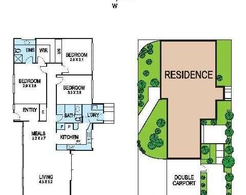 2-16-18 Childers Street Kew - Floorplan
