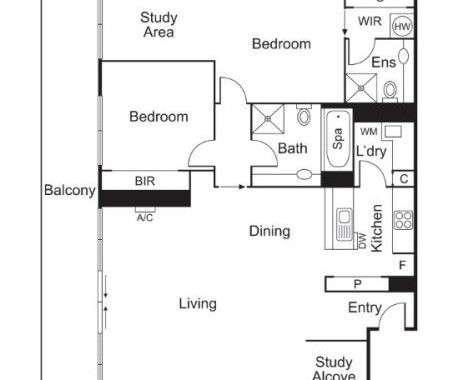 19-40-50 High Street Prahran - Floorplan