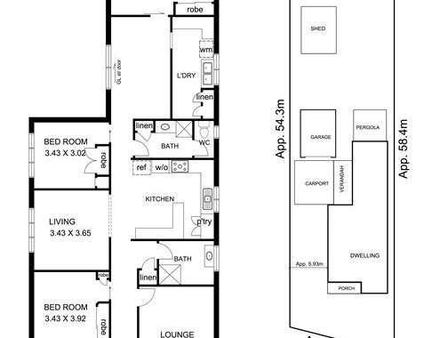 47 Dumfries Street Deer Park - Floorplan