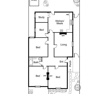 33 Winter Street Malvern - Floorplan