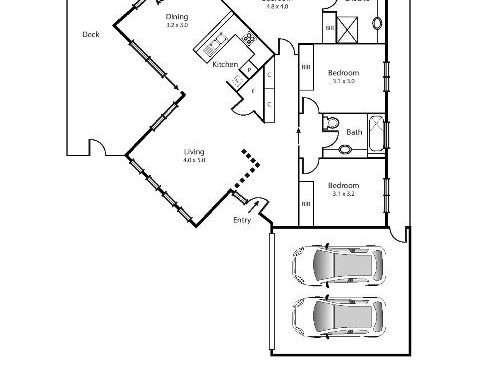 104B Collins Street Mentone - Floorplan