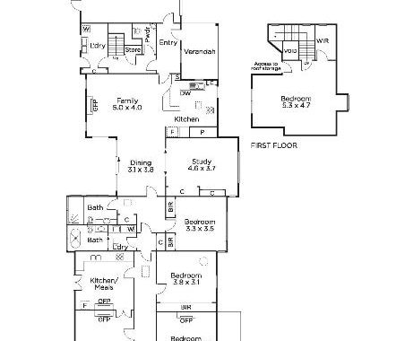 2 Tennyson Street Malvern East - Floorplan