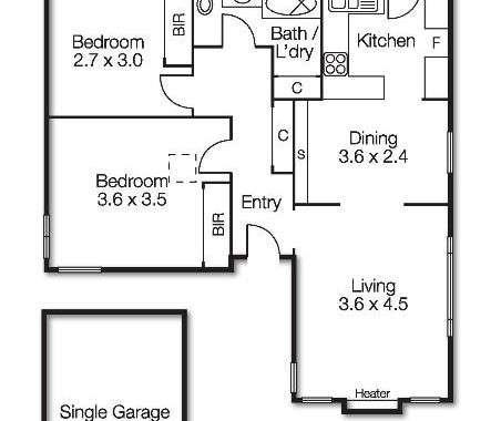 6-30 Boxshall Street Brighton - Floorplan