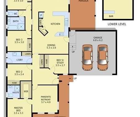 17 Nicolas Court Warragul - Floorplan