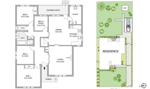 6 Stafford Street Northcote - Floorplan