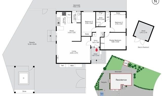 5 Julian Place Melton West - Floorplan
