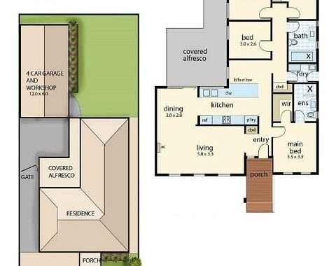 120 Ella Grove Chelsea - Floorplan