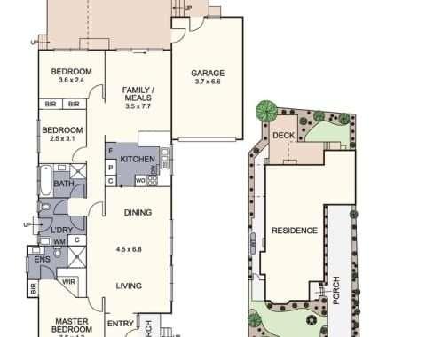 50 Cuthbert Street Heathmont - Floorplan