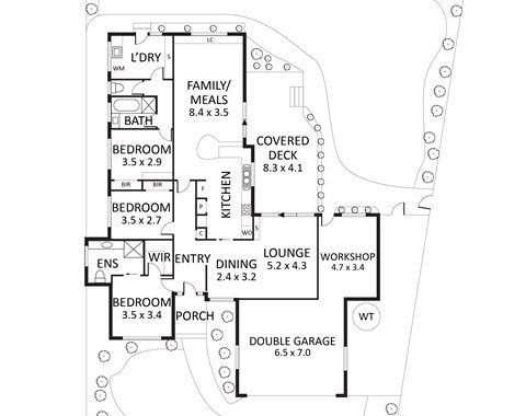 14 Denver Crescent Rowville - Floorplan