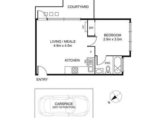 4 5-7 Harold Street Middle Park - Floorplan