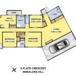 8 Plato Crescent Wheelers Hill - Floorplan