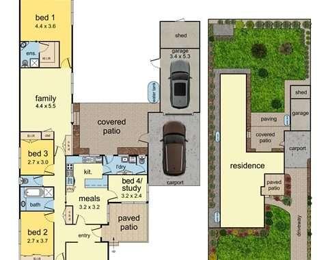 9 Francis Street Mount Waverley - Floorplan