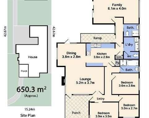 34 Ida Street Niddrie - Floorplan