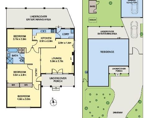 9 Cluney Court Blackburn South - Floorplan