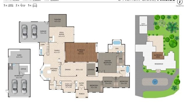 3 Norfolk Close Hillside - Floorplan