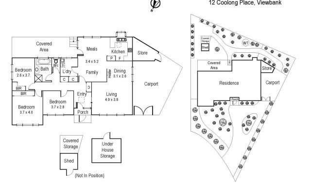 12 Coolong Place Viewbank - Floorplan