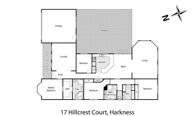 17 Hillcrest Court Harkness - Floorplan