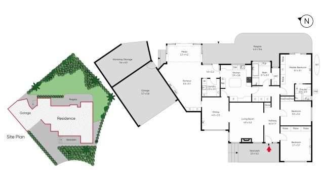 4 Hadley Court Glen Iris - Floorplan