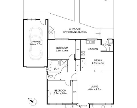 6-302 Lower Plenty Road Rosanna - Floorplan