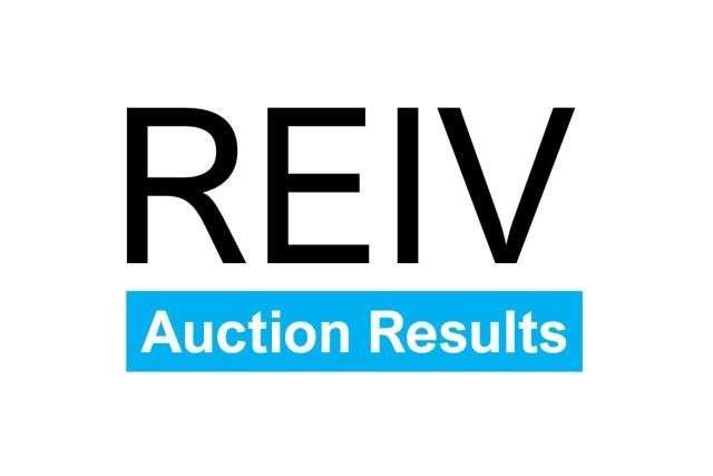 REIV Auction Results - Vendor Marketing