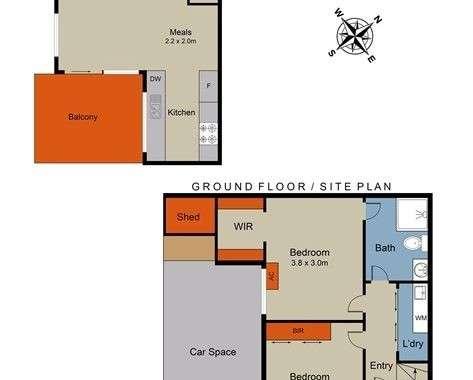 2-68 Wheatsheaf Road Glenroy - Floorplan