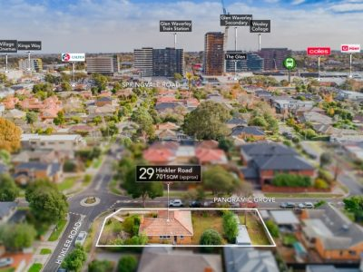 29 Hinkler Road Glen Waverley - Vendor Marketing - Melbourne's most qualified vendor asdvocates - Drone 1