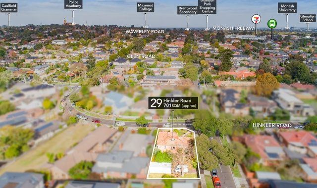 29 Hinkler Road Glen Waverley - Vendor Marketing - Melbourne's most qualified vendor asdvocates - Drone 3